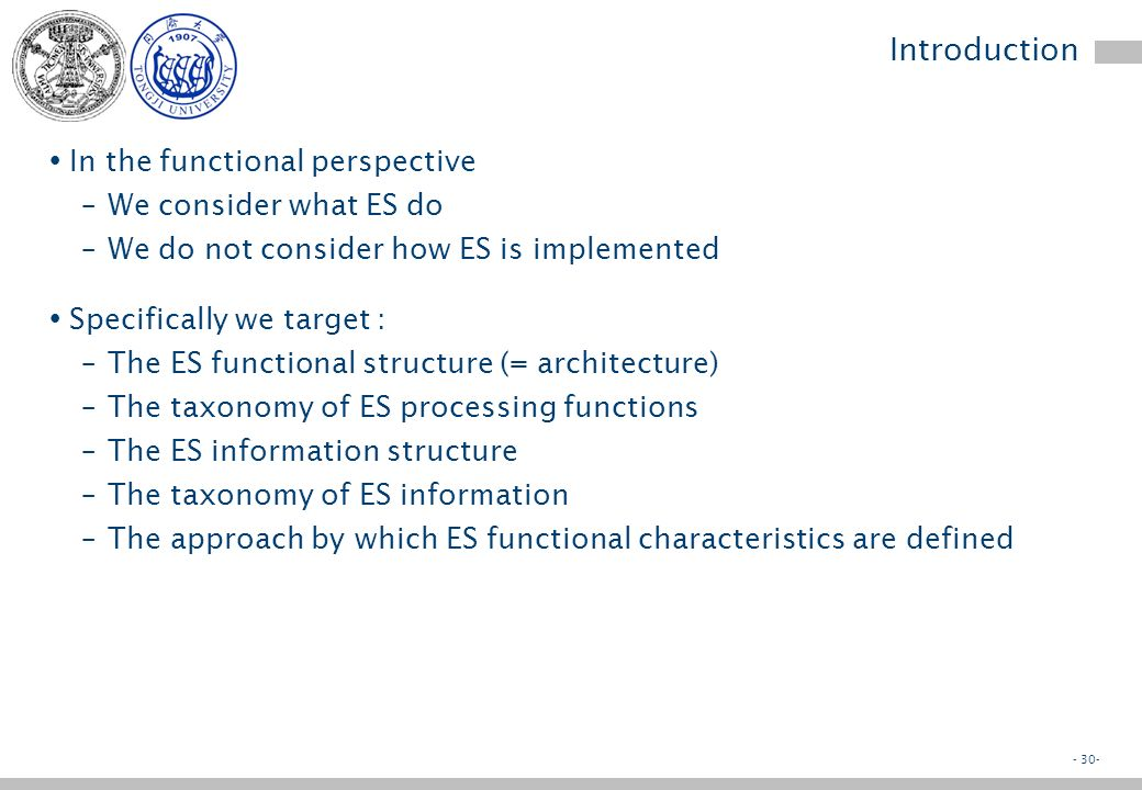 - 29- Objectives Business perspective Application perspective Technology perspective Implications Review questions Enterprise Systems Foundations