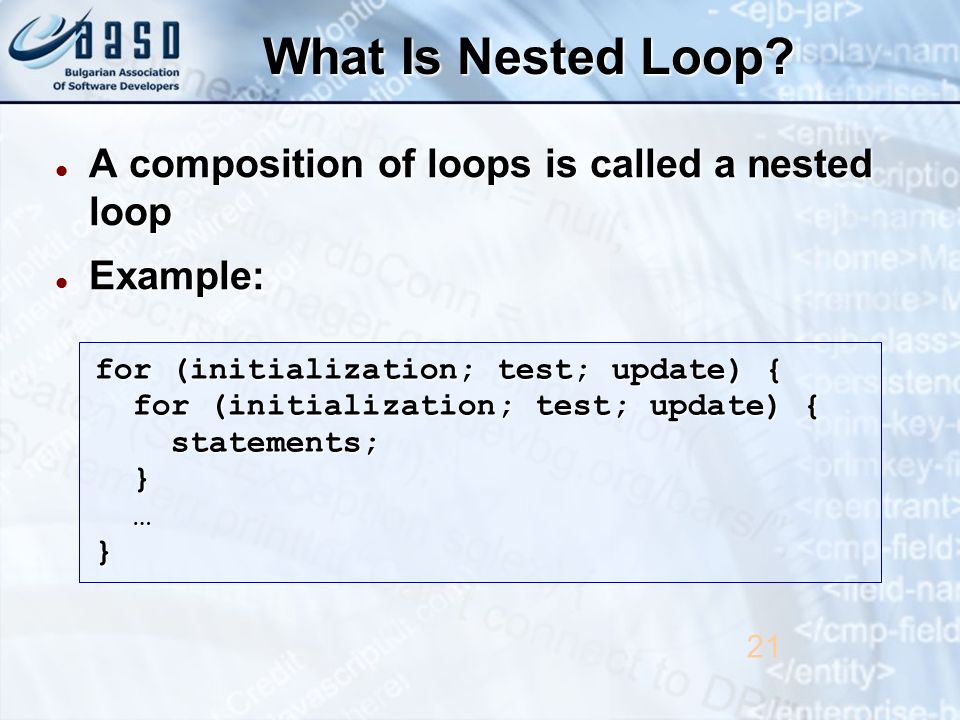 What Is Nested Loop.