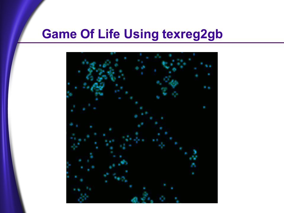 Game Of Life Using texreg2gb