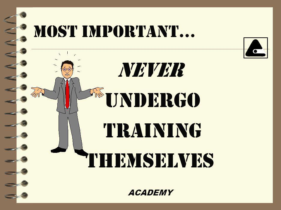 ACADEMY WHATEVER THEY CAN MANAGE, THEY CAN MISMANAGE...
