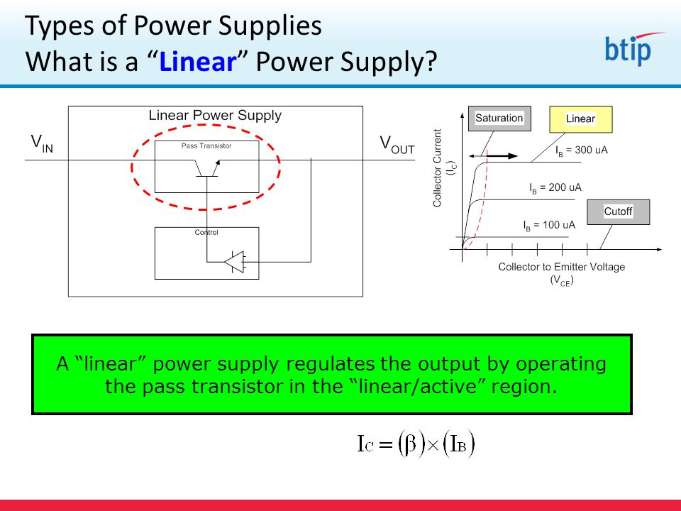 Types of Power Supplies What is a Linear Power Supply.