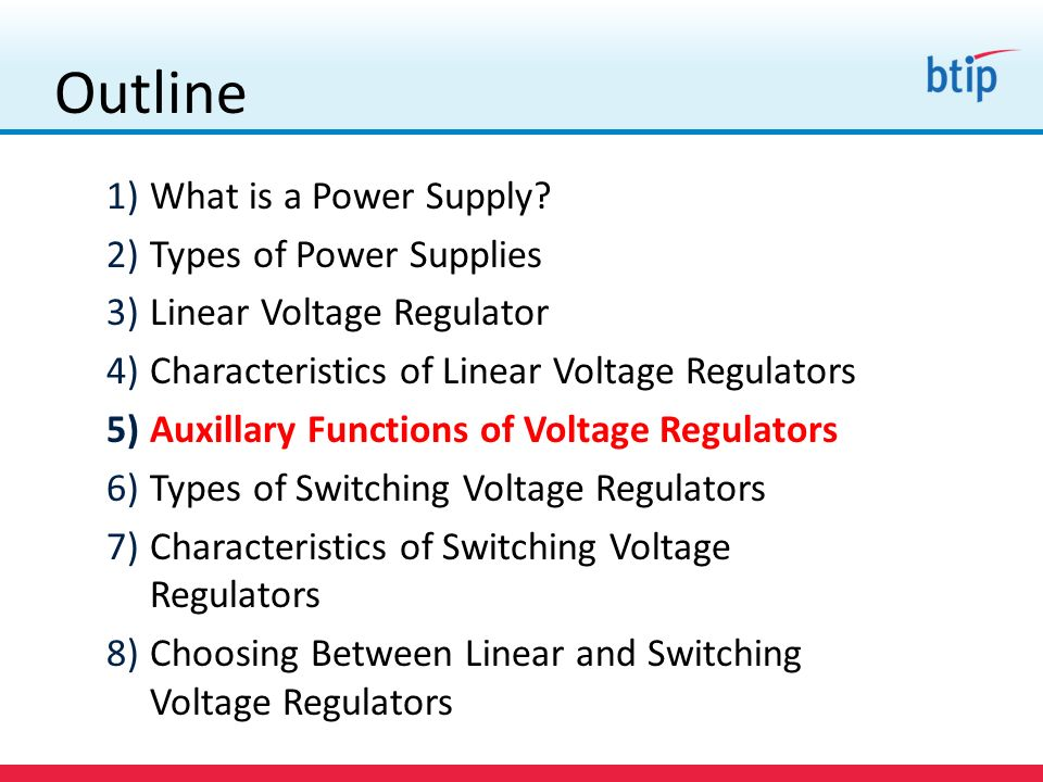 Outline 1)What is a Power Supply.