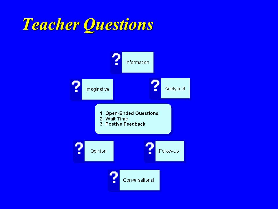Teacher Questions