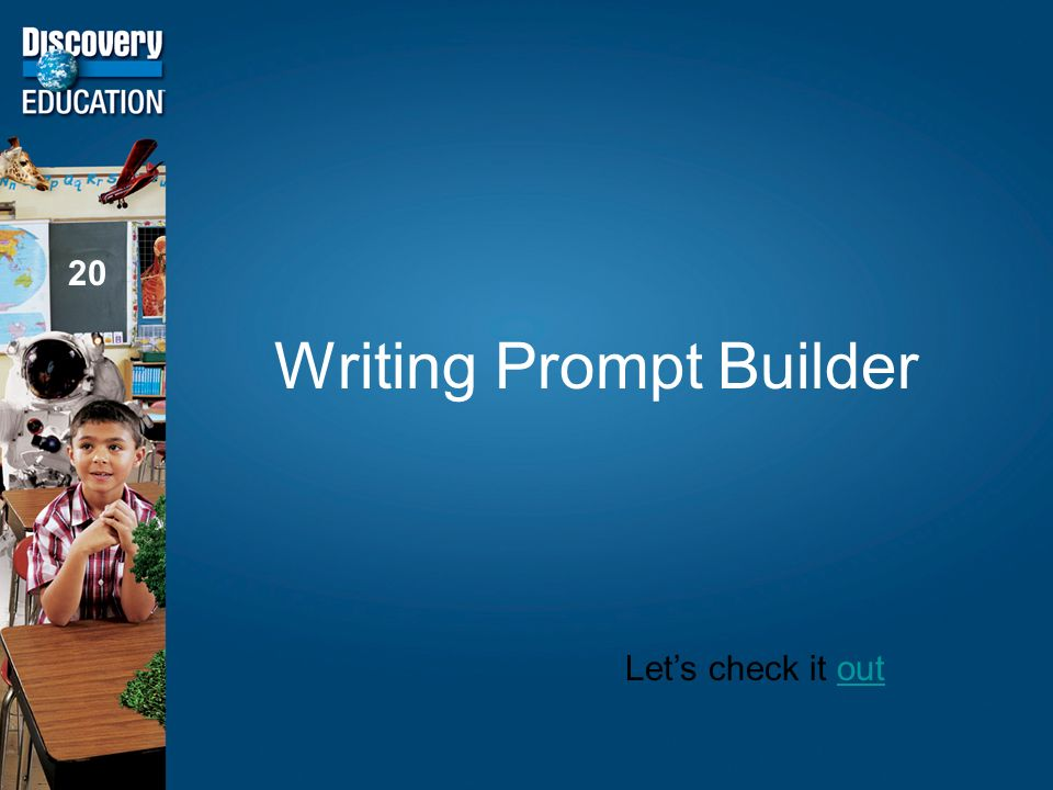 Writing Prompt Builder 20 Lets check it outout