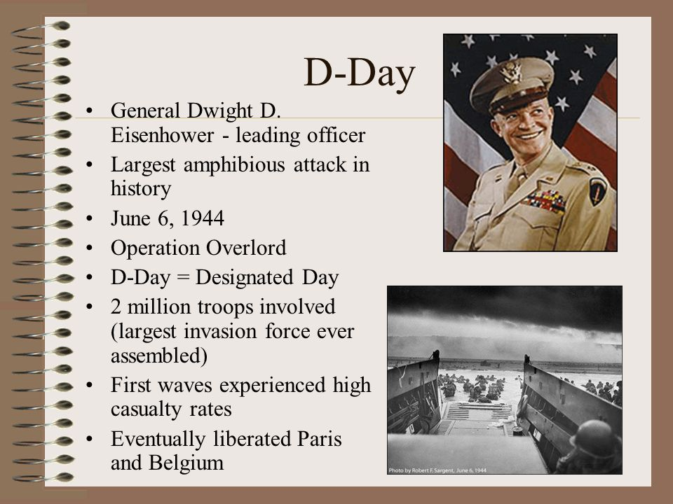 D-Day General Dwight D.