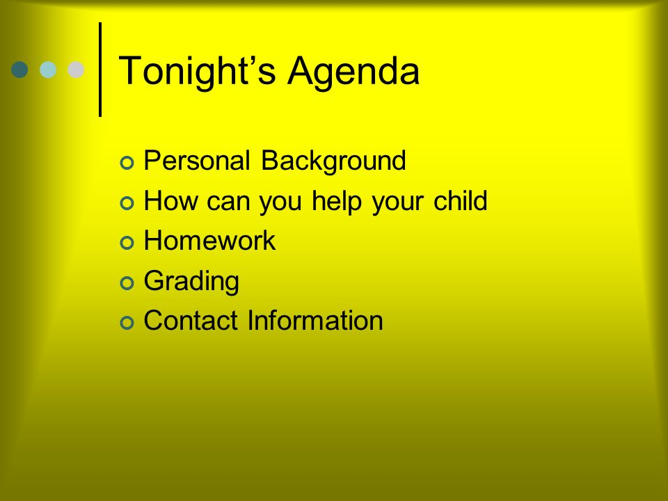 Welcome to Curriculum Night at IMS September 24, 2013