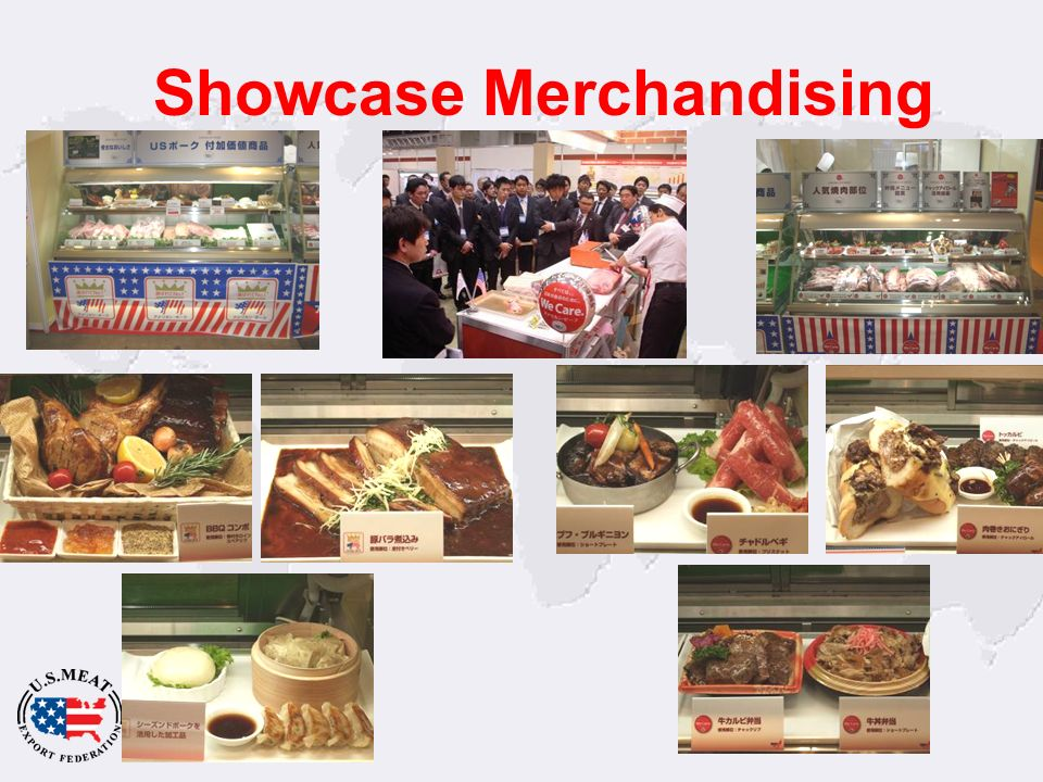 Showcase Merchandising
