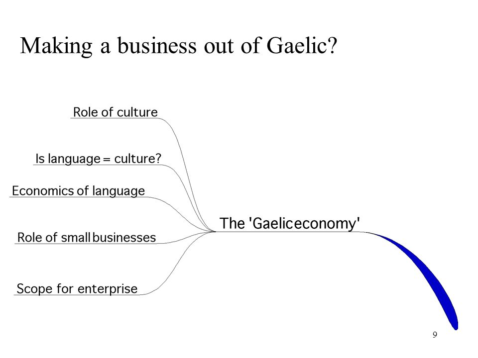 9 Making a business out of Gaelic