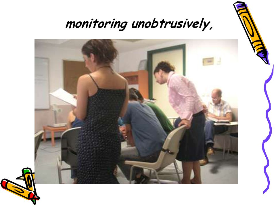 monitoring unobtrusively,