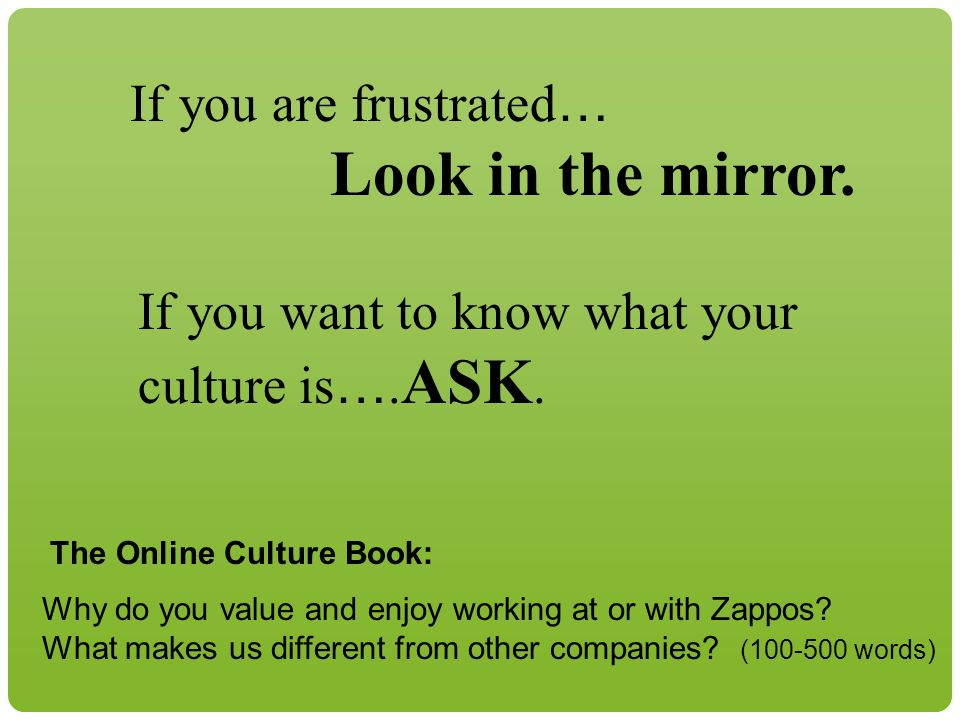 © 2010 REALeadership Alliance and Will Marre If you are frustrated … Look in the mirror.