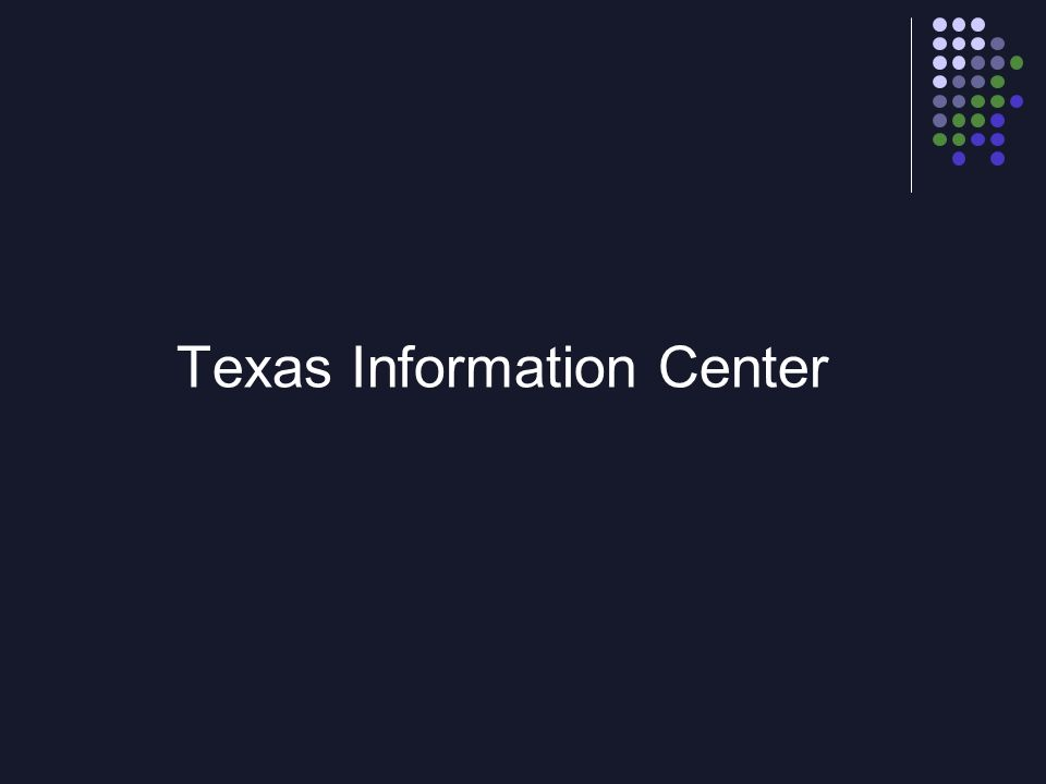 Texas Information Center