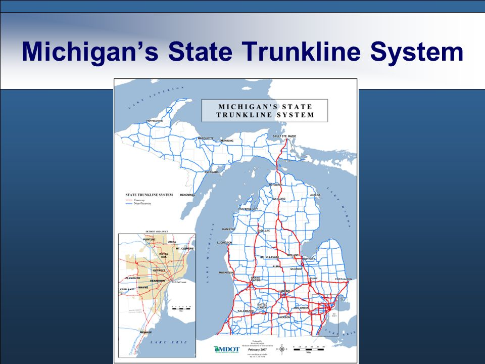 Michigans State Trunkline System