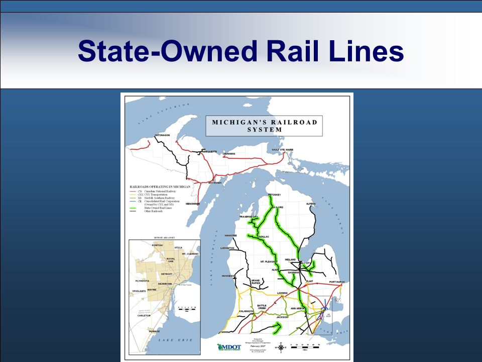State-Owned Rail Lines