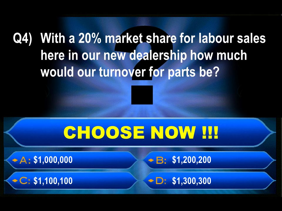 CHOOSE NOW !!.