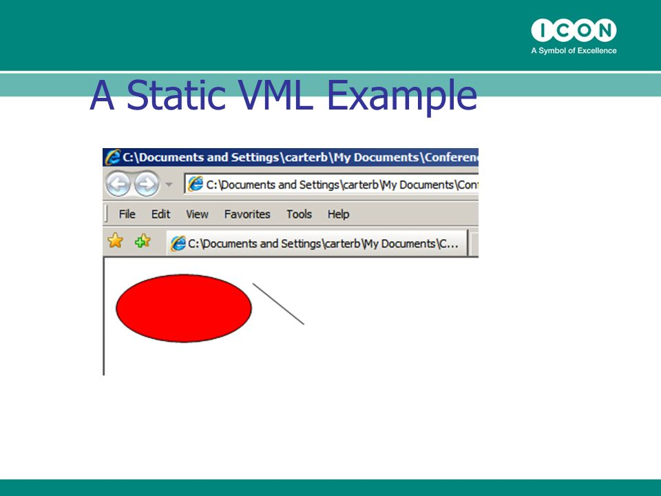 A Static VML Example