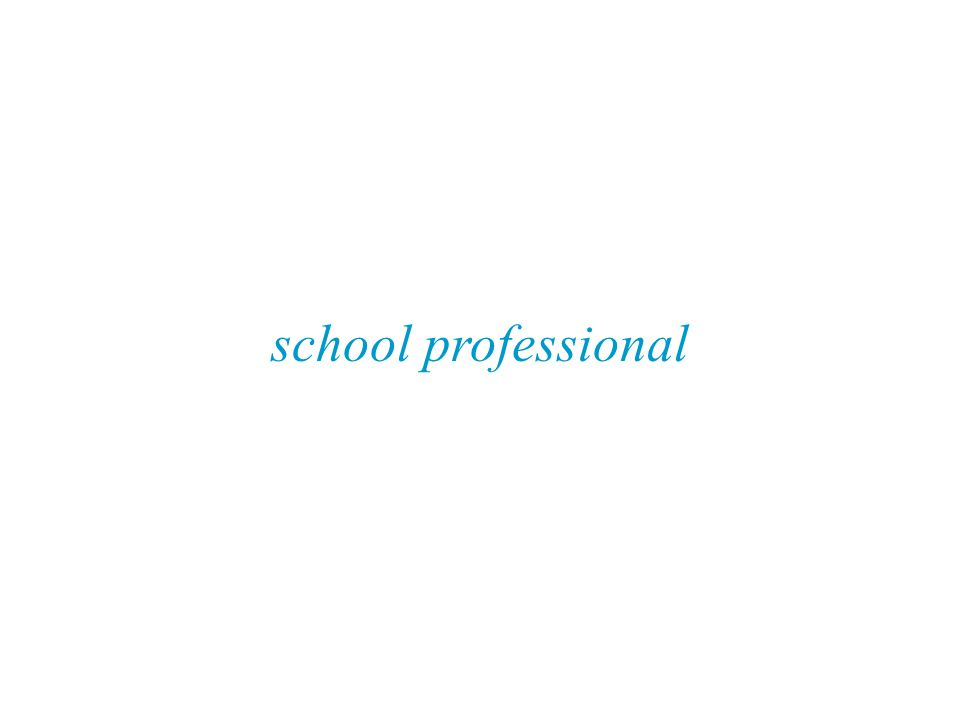 school professional