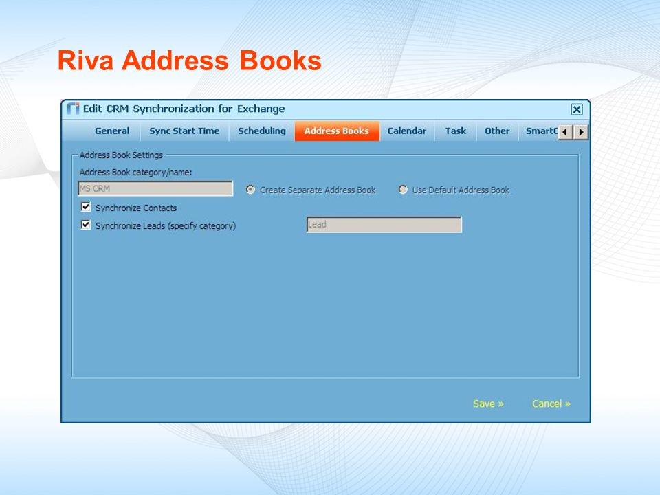 Riva Address Books
