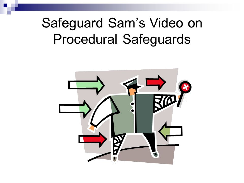 Safeguard Sams Video on Procedural Safeguards