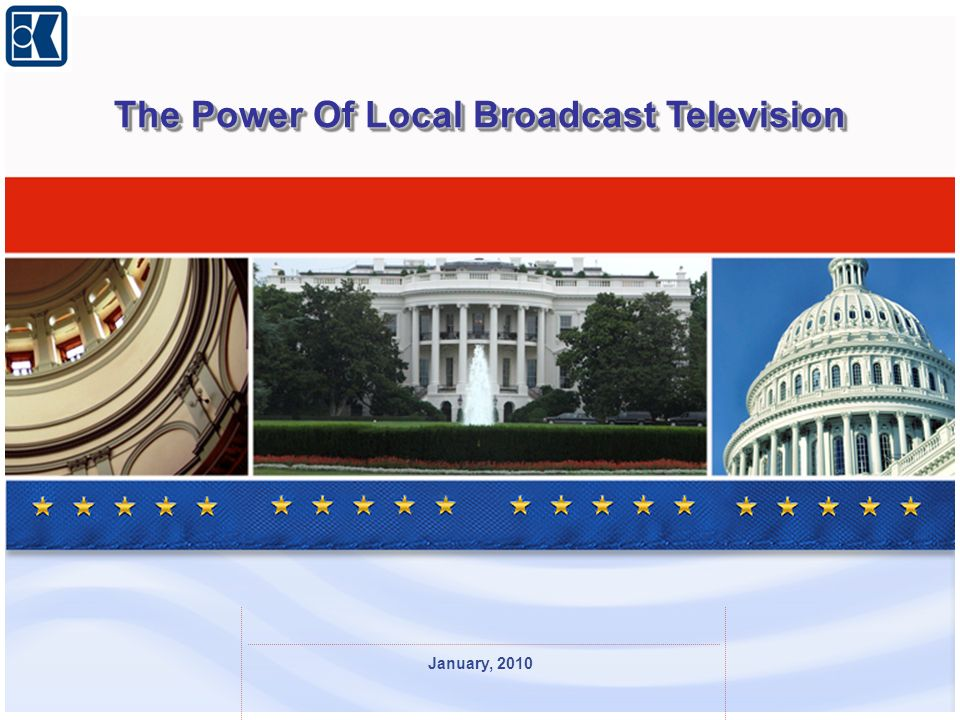 January, 2010 The Power Of Local Broadcast Television
