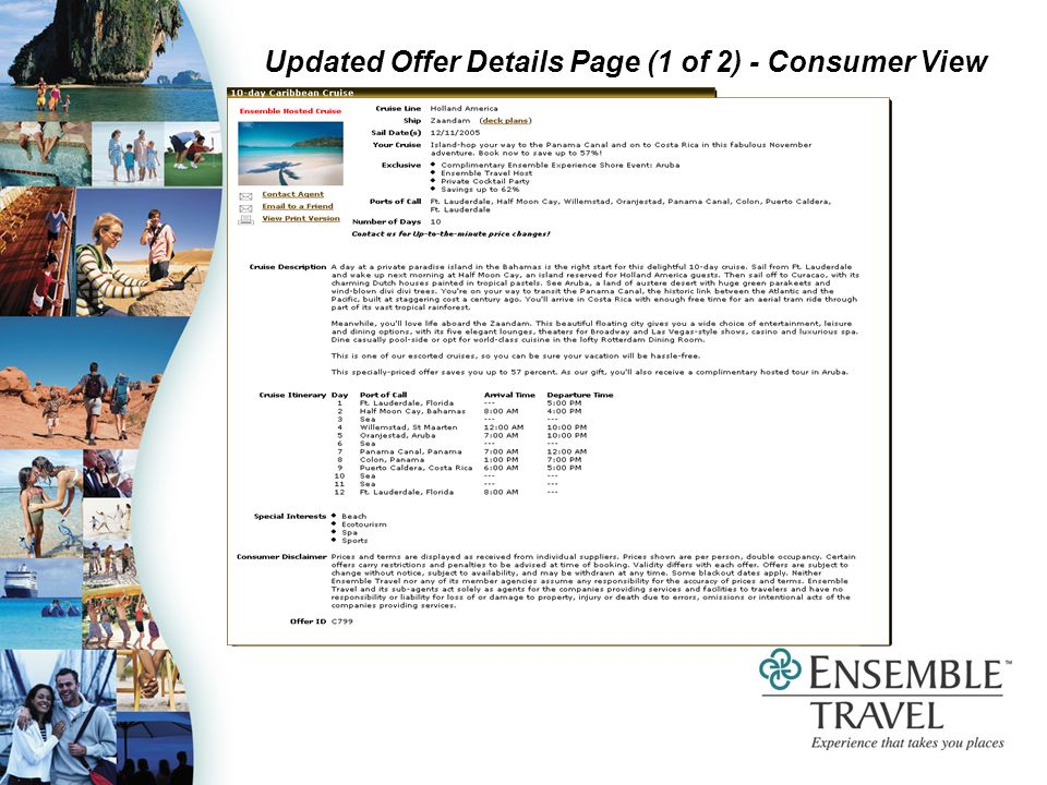 Updated Offer Details Page (1 of 2) - Consumer View