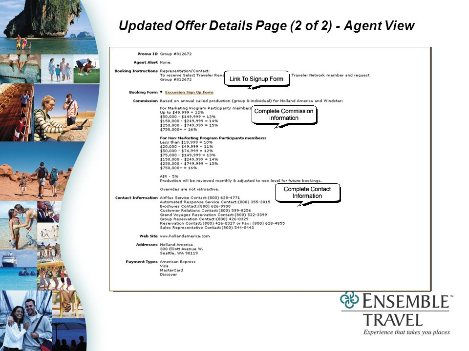 Updated Offer Details Page (2 of 2) - Agent View