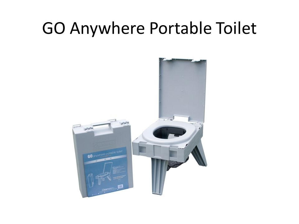 GO Anywhere Portable Toilet