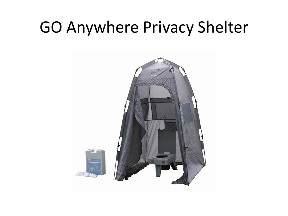 GO Anywhere Privacy Shelter