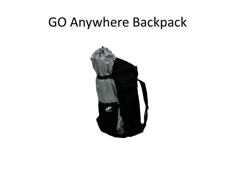 GO Anywhere Backpack