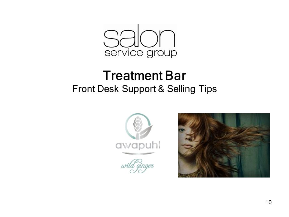 10 Treatment Bar Front Desk Support & Selling Tips