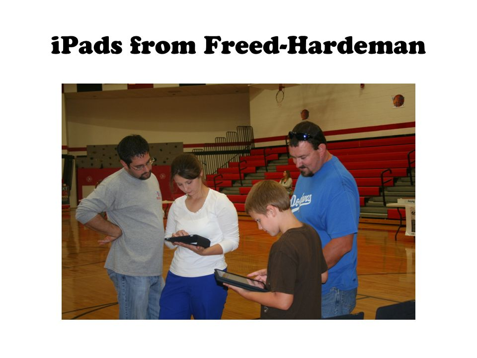 iPads from Freed-Hardeman