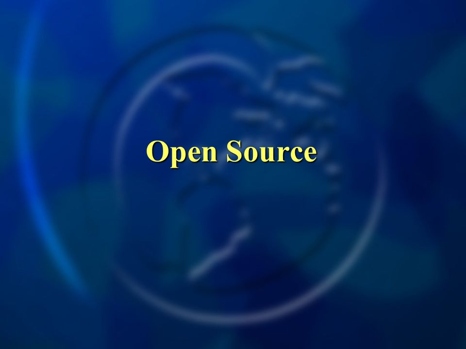 Open Source Open Source