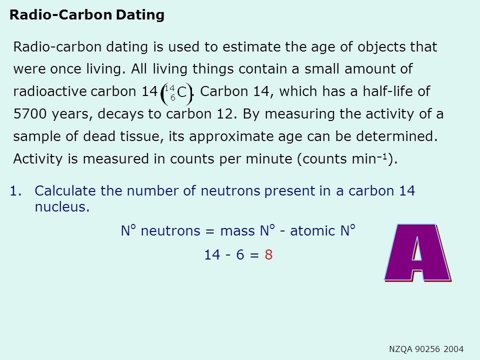 When can carbon dating be used