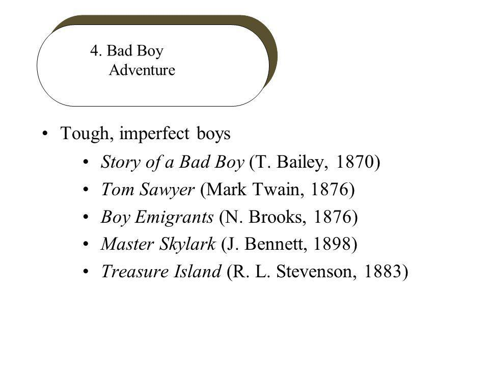4. Bad Boy Adventure Tough, imperfect boys Story of a Bad Boy (T.