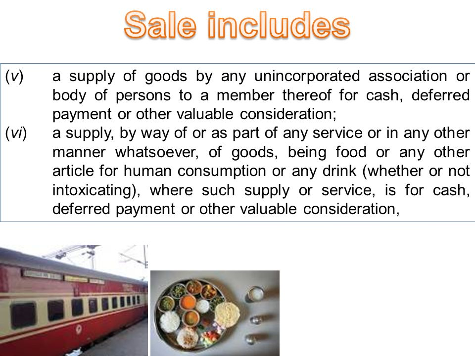 (iii) a delivery of goods on hire-purchase or any system of payment by installments; (iv) a transfer of the right to use any goods for any purpose (whether or not for a specified period) for cash, deferred payment or other valuable consideration; Hire PurchaseRenting Manufacturer or Dealer