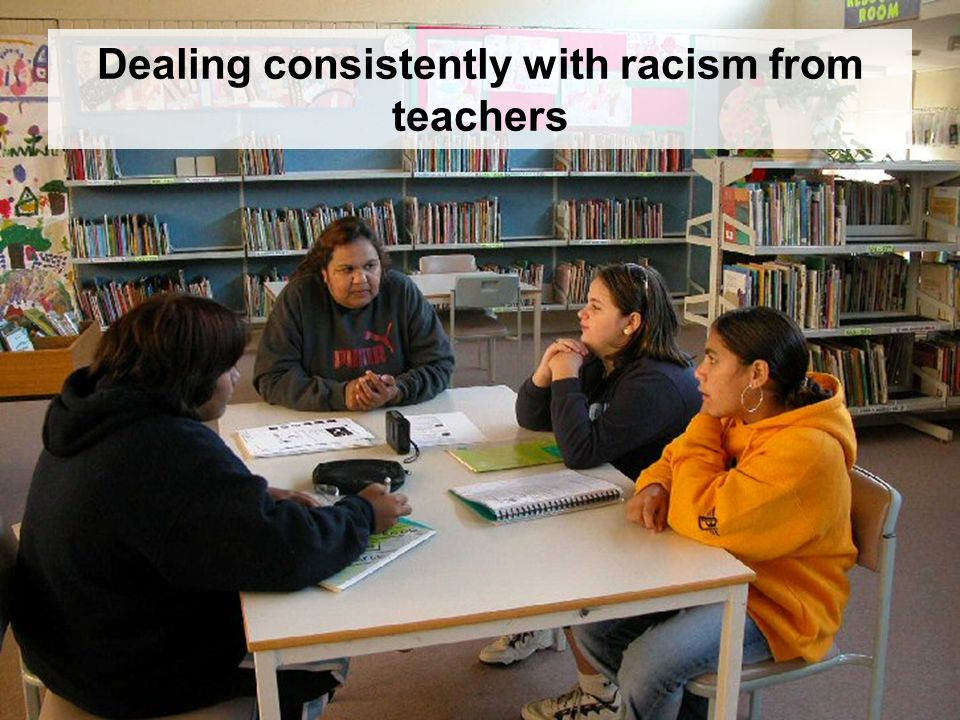 ACEC 2006 Dealing consistently with racism from teachers
