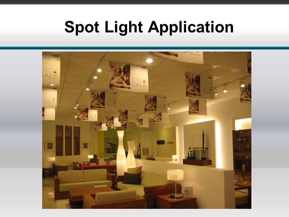 Spot Light Application