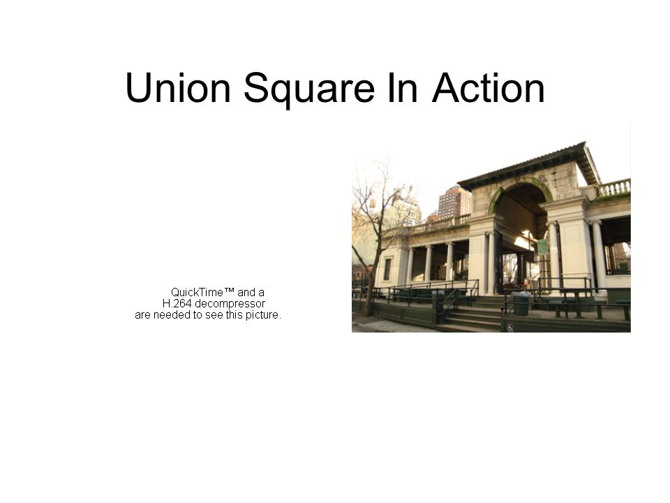 Union Square In Action