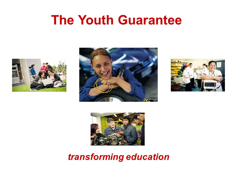 The Youth Guarantee transforming education
