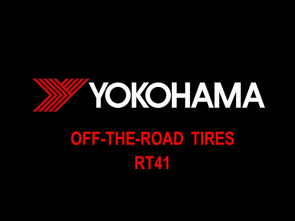 OFF-THE-ROAD TIRES RT41