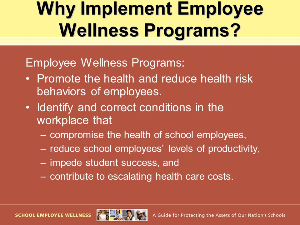 Why Implement Employee Wellness Programs.