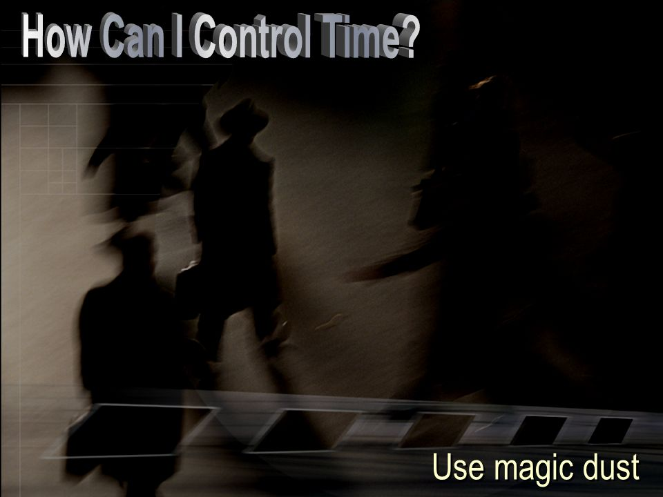 Use magic dust