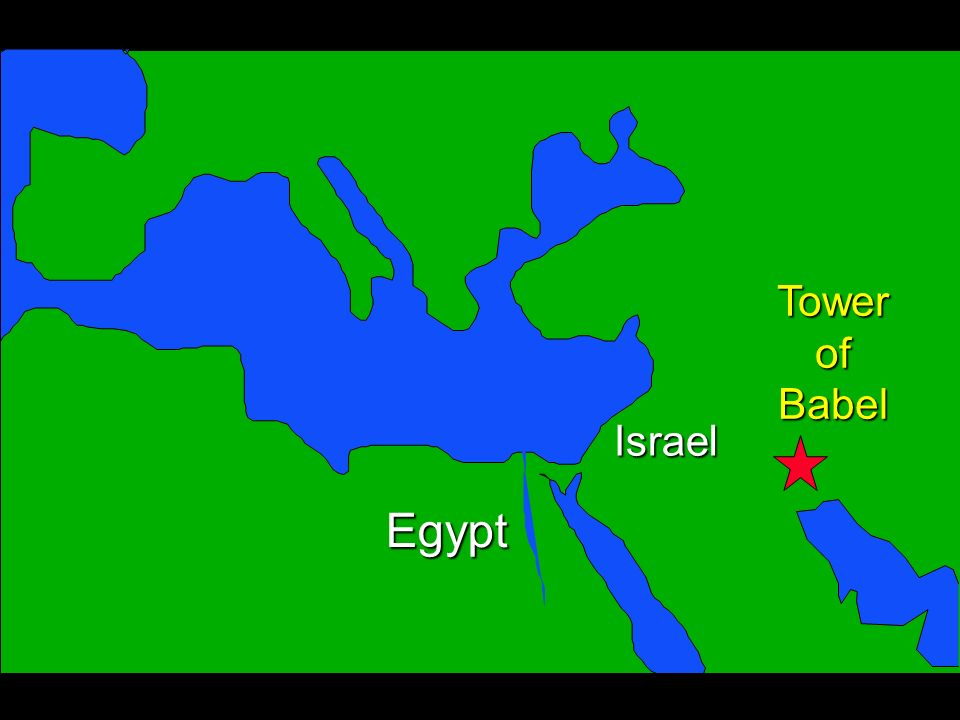 Egypt Israel TowerofBabel