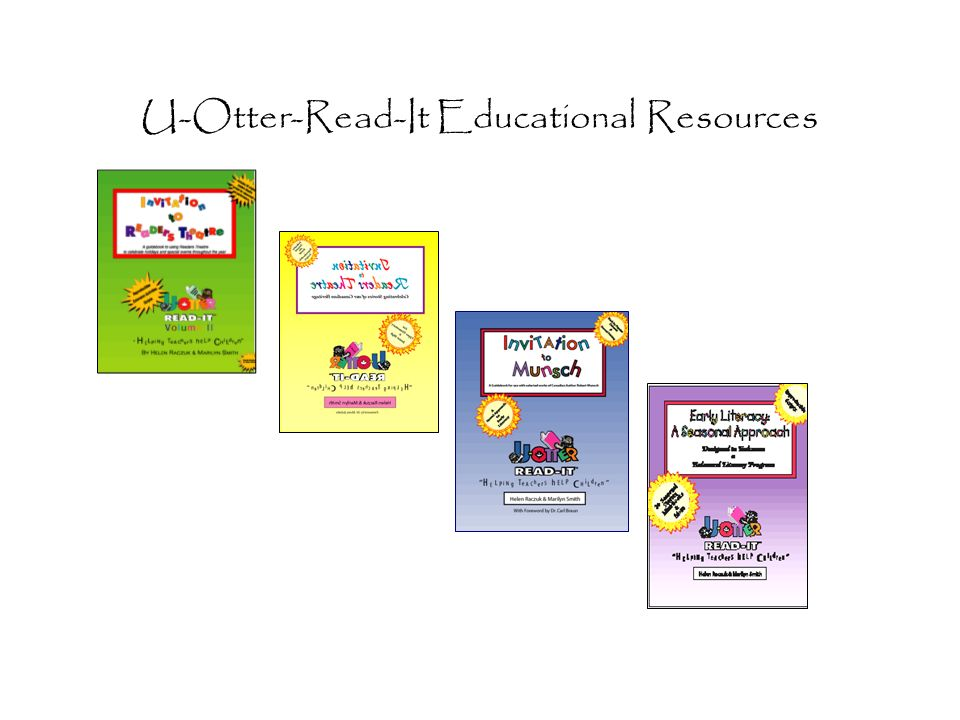 U-Otter-Read-It Educational Resources
