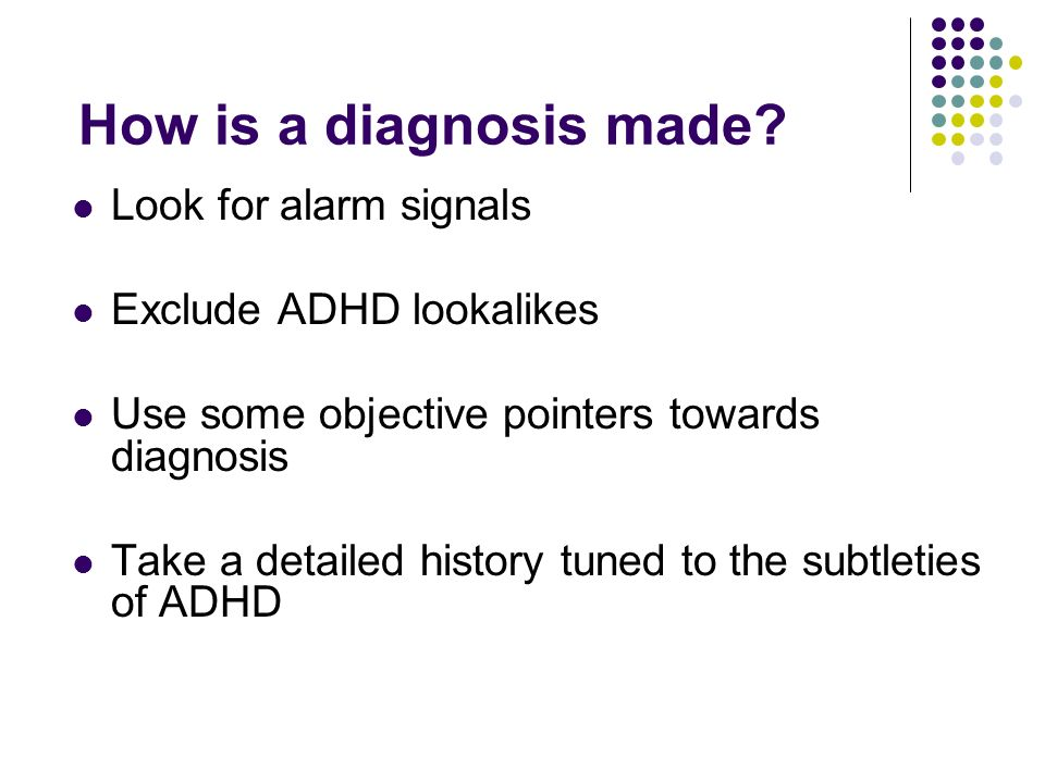How is a diagnosis made.