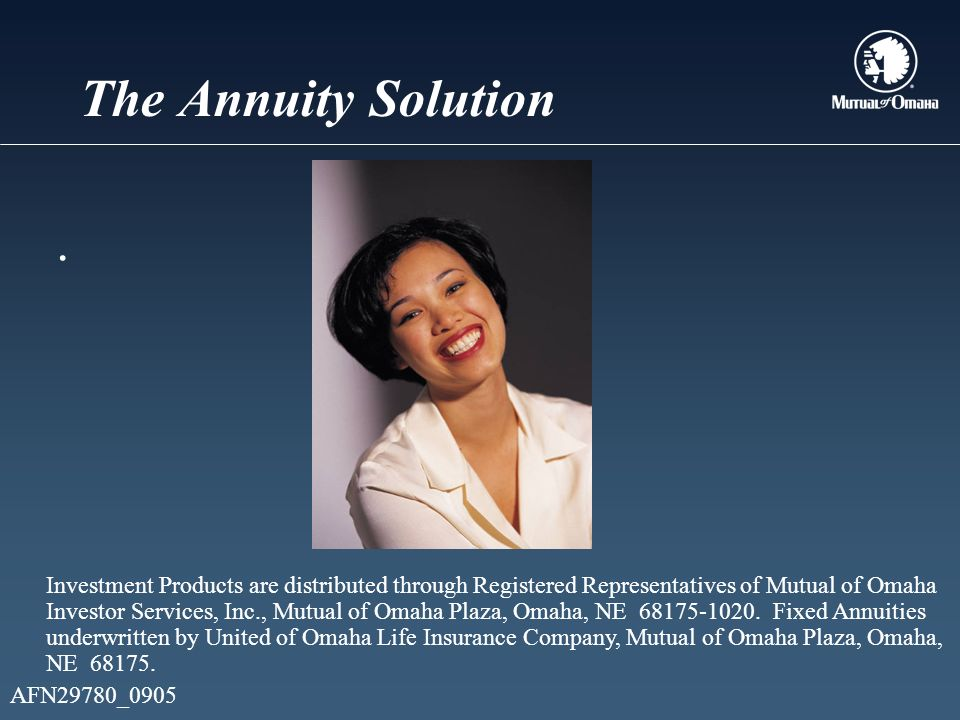 The Annuity Solution.