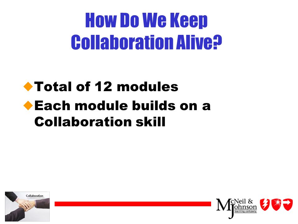 How Do We Keep Collaboration Alive.