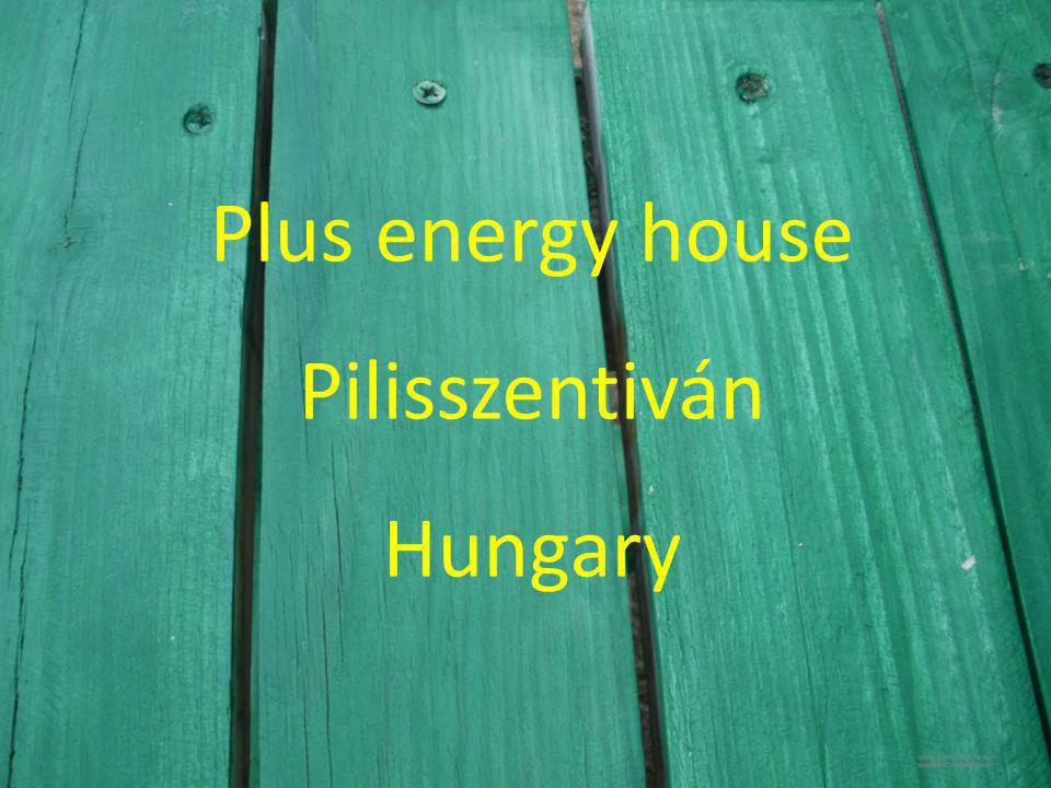 Plus energy house Pilisszentiván Hungary