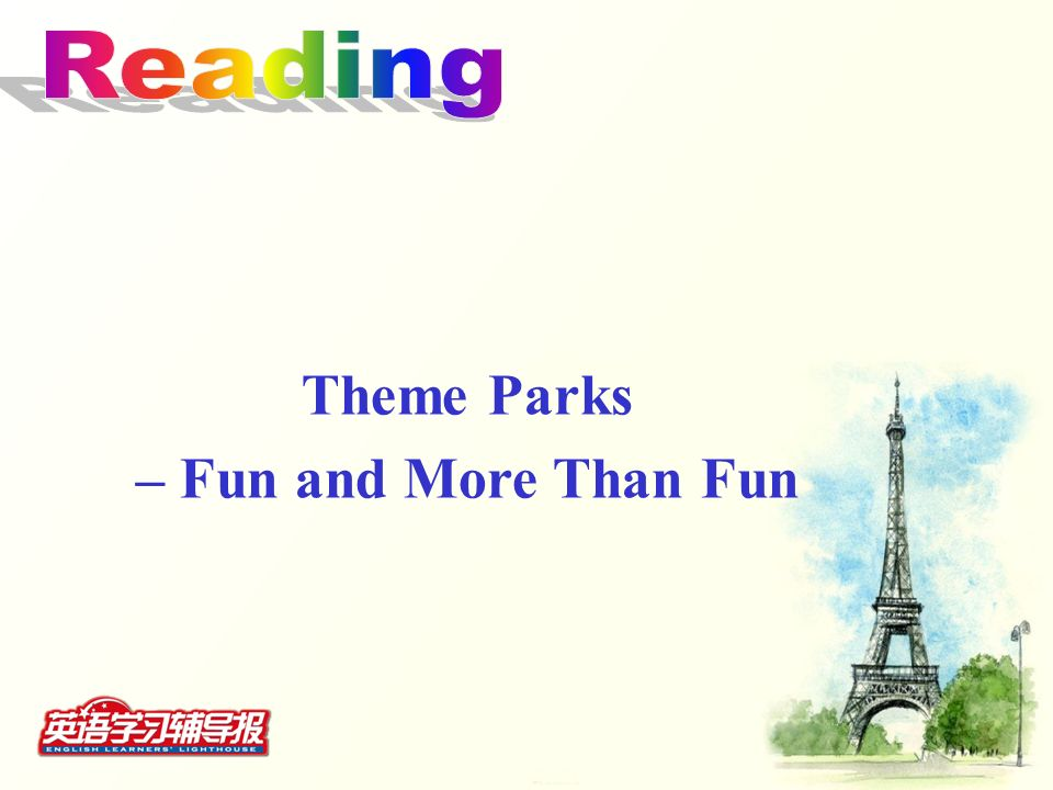 Theme Parks – Fun and More Than Fun