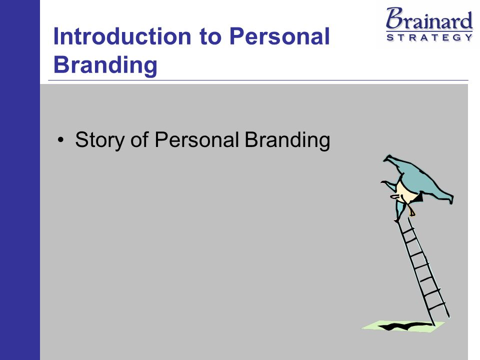 Introduction to Personal Branding Story of Personal Branding