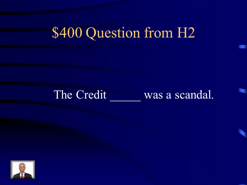 $300 Answer from H2 Laisse-faire